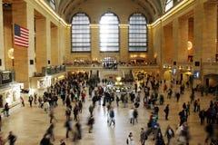 Estação grande do centrel, New York fotografia de stock royalty free