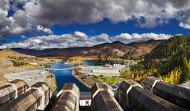 Estação Hydroelectric fotos de stock