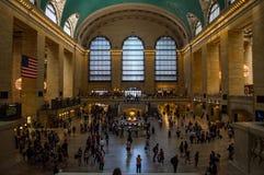 Estação interna de Grand Central em Manhattan imagem de stock