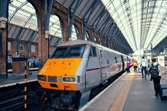 Estação Londres da cruz dos reis Foto de Stock Royalty Free