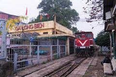 Estação longa de Bien em Hanoi 2018 Fotografia de Stock