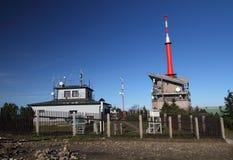 Estação meteorológica imagens de stock royalty free