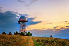 Estação meteorológica Fotografia de Stock Royalty Free