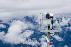 Estação meteorológica de Áustria Tauplitz Fotografia de Stock Royalty Free