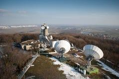 Estação meteorológica Imagens de Stock