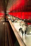 Estação nova de Hafencity em Hamburgo Fotografia de Stock