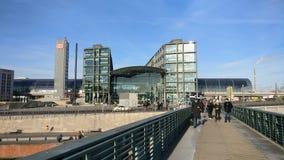 Estação principal Berlim Fotografia de Stock