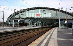 Estação principal do trem de Berlim (Hauptbahnhof) Imagem de Stock