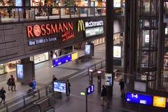 Estação principal Hauptbahnhof do trem de Berlim em Berlim, Alemanha Th Imagens de Stock Royalty Free