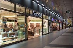 Estação principal Hauptbahnhof do trem de Berlim em Berlim, Alemanha Th Foto de Stock Royalty Free