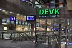 Estação principal Hauptbahnhof do trem de Berlim em Berlim, Alemanha Th Fotos de Stock