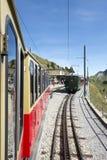 Estação railway do término de Schynige Platte Imagens de Stock
