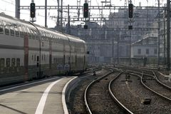 Estação Railway (do trem) Foto de Stock