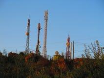 Estação retransmissora de Alora Fotografia de Stock