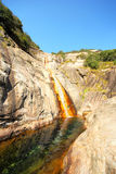Estação seca da cachoeira Imagem de Stock Royalty Free