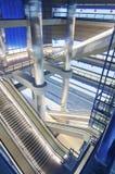 Estação subterrânea Imagens de Stock