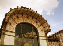 Estação subterrânea de Karlsplatz Imagens de Stock