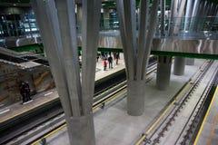 Estação subterrânea de Varsóvia Imagem de Stock