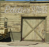 Estação velha do serviço Imagem de Stock Royalty Free