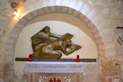 Estações da cruz 5 Imagem de Stock Royalty Free