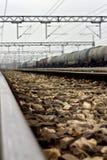 Estações de trem na Sérvia Fotografia de Stock Royalty Free