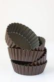 Estaño de la tarta de la empanada Imagen de archivo libre de regalías