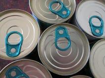 estaños Foto de archivo libre de regalías