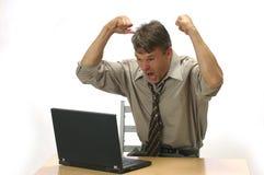 Esta é gerência da raiva Imagem de Stock