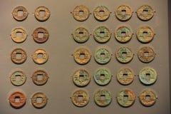 Esta é a moeda de Tang Dynasty em China imagens de stock royalty free