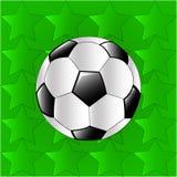 Esta é uma bola de futebol do vetor foto de stock