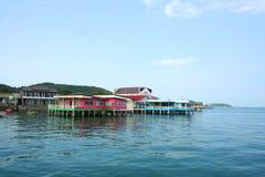 Casa no beira-mar Foto de Stock