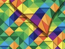 Esta é uma imagem de fundo da cor em um teste padrão da edredão a ser a usado Ilustração do Vetor