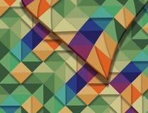 Esta é uma imagem de fundo da cor em um teste padrão da edredão a ser a usado Ilustração Stock