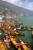 Clube do barco, Nainital Fotografia de Stock