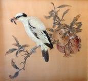 Esta arte antiga de China tem muito simbolismo Símbolo de Grant da fertilidade fotografia de stock