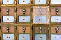 Caixa postal brandnew Imagem de Stock