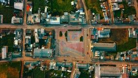 Esta cidade é sapuyes é muito pequena foto de stock