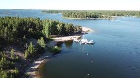 Esta clase de visión es muy usual aquí en el archipiélago de Finlandia