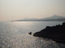 Esta foto foi tomada no beira-mar na ilha de Jeju, Coreia do Sul imagem de stock