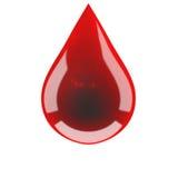 Gota do sangue Fotografia de Stock Royalty Free
