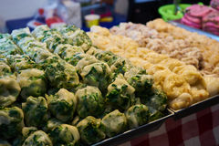 Esta imagem é sobre a sobremesa tailandesa, Banguecoque Tailândia Foto de Stock