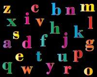 Grupo do alfabeto do vetor Fotos de Stock Royalty Free