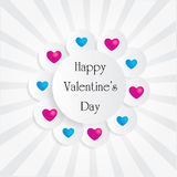 Coração do dia de Valentim Imagens de Stock