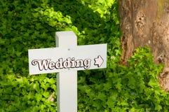 Esta maneira ao casamento fotos de stock