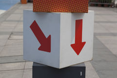 Esta manera Foto de archivo