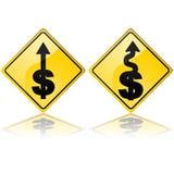 Esta manera al dinero stock de ilustración