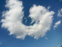 Esta nuvem olha como Firefox Imagens de Stock