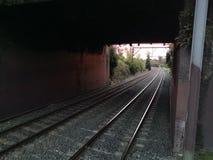Esta??o de caminhos-de-ferro imagens de stock royalty free