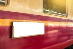 Esta??o de comboio de Hua Lamphong imagem de stock royalty free