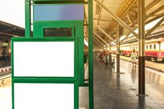 Esta??o de comboio de Hua Lamphong fotos de stock